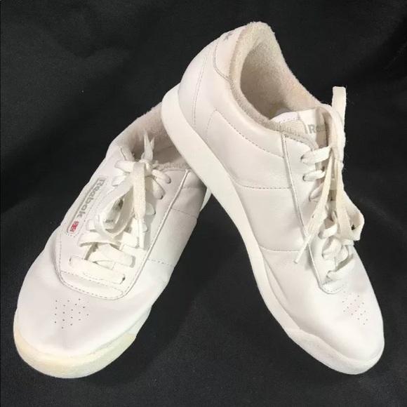 d921737e08d REEBOK Shoes Princess Classic Sneakers White Sz 6.  M 5b1ac8fe2e14787c40b60e58